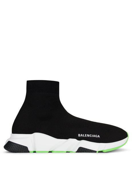 Balenciaga Men's Giulio Fashion Black Speed Sock Sneakers 587286W17041073