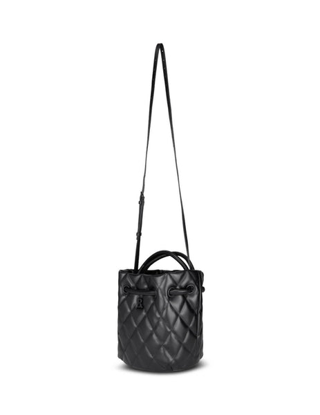 Women's Black Balenciaga Touch Bucket Bag 6003271WN171000
