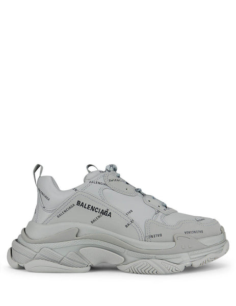 Balenciaga Men's Giulio Fashion Grey/Black Triple S Sneakers 536737W2FA11210
