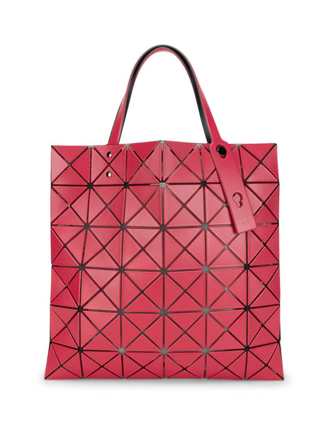 BAO BAO ISSEY MIYAKE Red Lucent Matte-2 Tote Bag BB06AG673 24