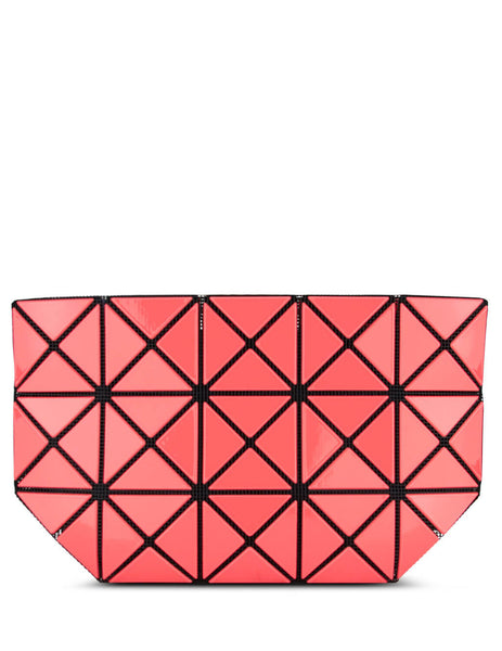 Women's Coral Red BAO BAO ISSEY MIYAKE Prism Gloss Pouch Bag BB08AG51231