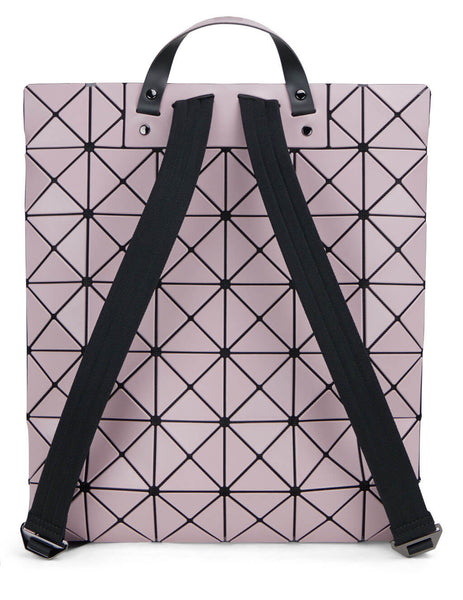 Women's BAO BAO ISSEY MIYAKE Flat Pack Backpack in Light Pink - BB16AG69121