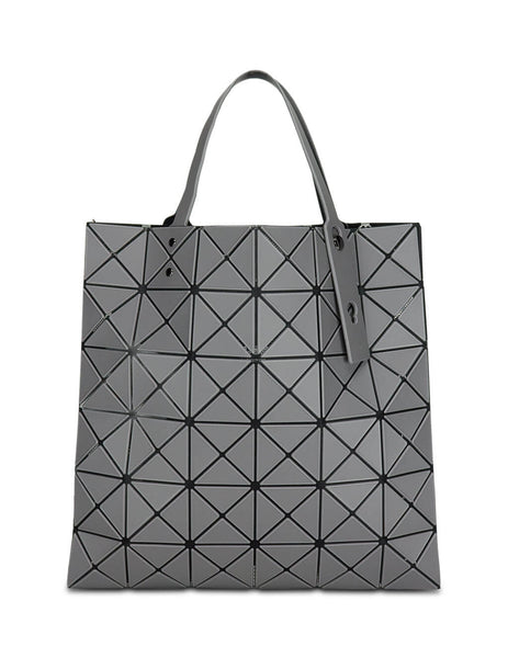 BAO BAO ISSEY MIYAKE Women's Giulio Fashion Grey Lucent Frost Tote Bag BB08AG60413