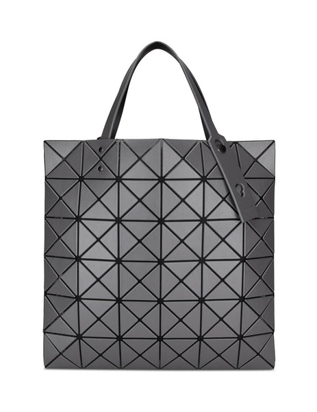 BAO BAO ISSEY MIYAKE Women's Giulio Fashion Grey Lucent Matte Tote BB98AG68314