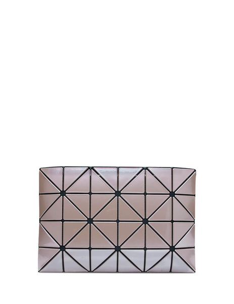 BAO BAO ISSEY MIYAKE Women's Giulio Fashion Cocoa Brown Lucent Metallic Pouch BB98AG62544