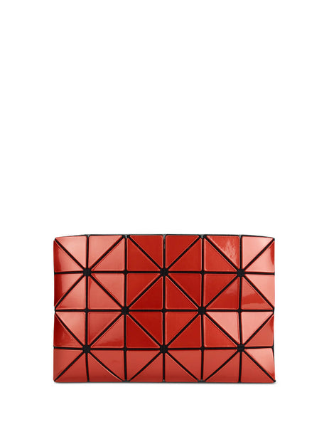 BAO BAO ISSEY MIYAKE Women's Giulio Fashion Orange Lucent Metallic Pouch BB98AG62532