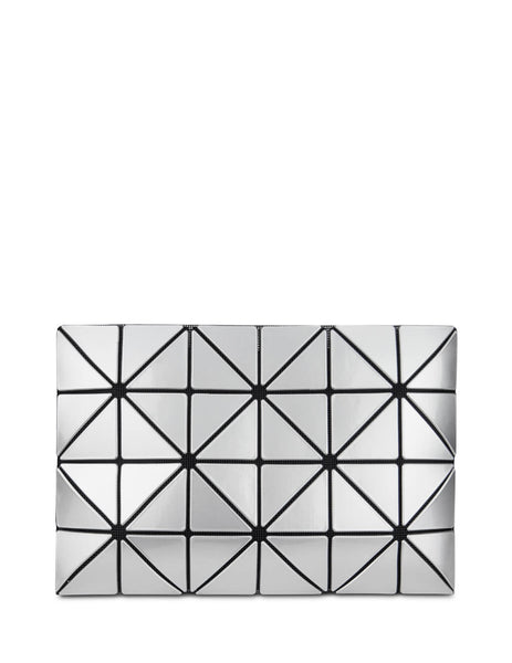 BAO BAO ISSEY MIYAKE Women's Giulio Fashion Silver Lucent Pouch BB98AG05591