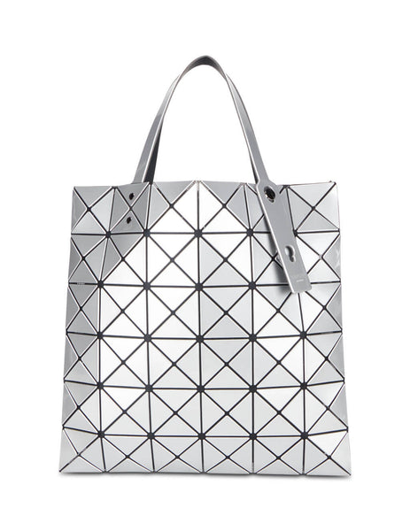 BAO BAO ISSEY MIYAKE Women's Giulio Fashion Silver Lucent Tote Bag BB08AG05191