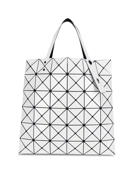 BAO BAO ISSEY MIYAKE Women's Giulio Fashion White Lucent Tote Bag BB08AG05101