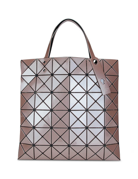 BAO BAO ISSEY MIYAKE Women's Giulio Fashion Cocoa Brown Lucent Metallic Tote BB98AG62344