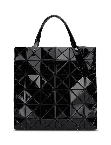 BAO BAO ISSEY MIYAKE Women's Giulio Fashion Black Lucent Tote BB06AG053 15