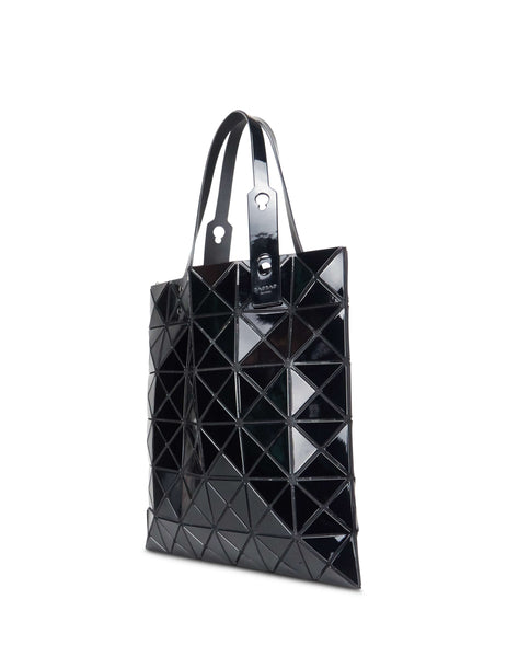 BAO BAO ISSEY MIYAKE Women's Giulio Fashion Black Lucent Tote BB98AG05315