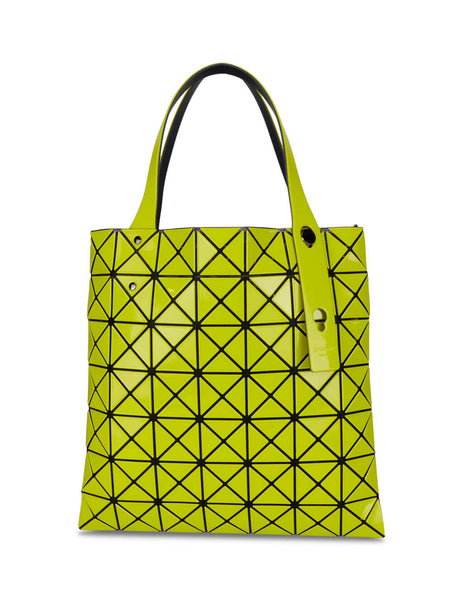 BAO BAO ISSEY MIYAKE Women's Giulio Fashion Yellow Prism Gloss Mini Tote BB08AG51452