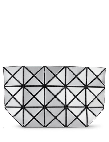 BAO BAO ISSEY MIYAKE Women's Giulio Fashion Silver Prism Pouch BB08AG04691
