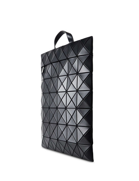 BAO BAO ISSEY MIYAKE Women's Giulio Fashion Black Speciality Flat Pack Backpack BB98AG69116