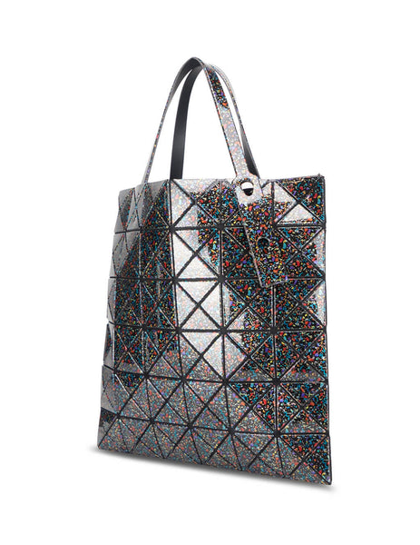 BAO BAO ISSEY MIYAKE Women's Giulio Fashion Black Mix Stone Tote Bag BB08AG80718