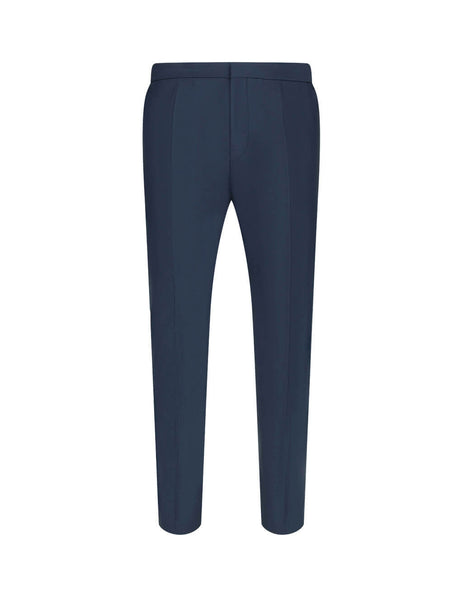 Men's Dark Blue BOSS Brider1 Slim-Fit Trousers 50427805-402