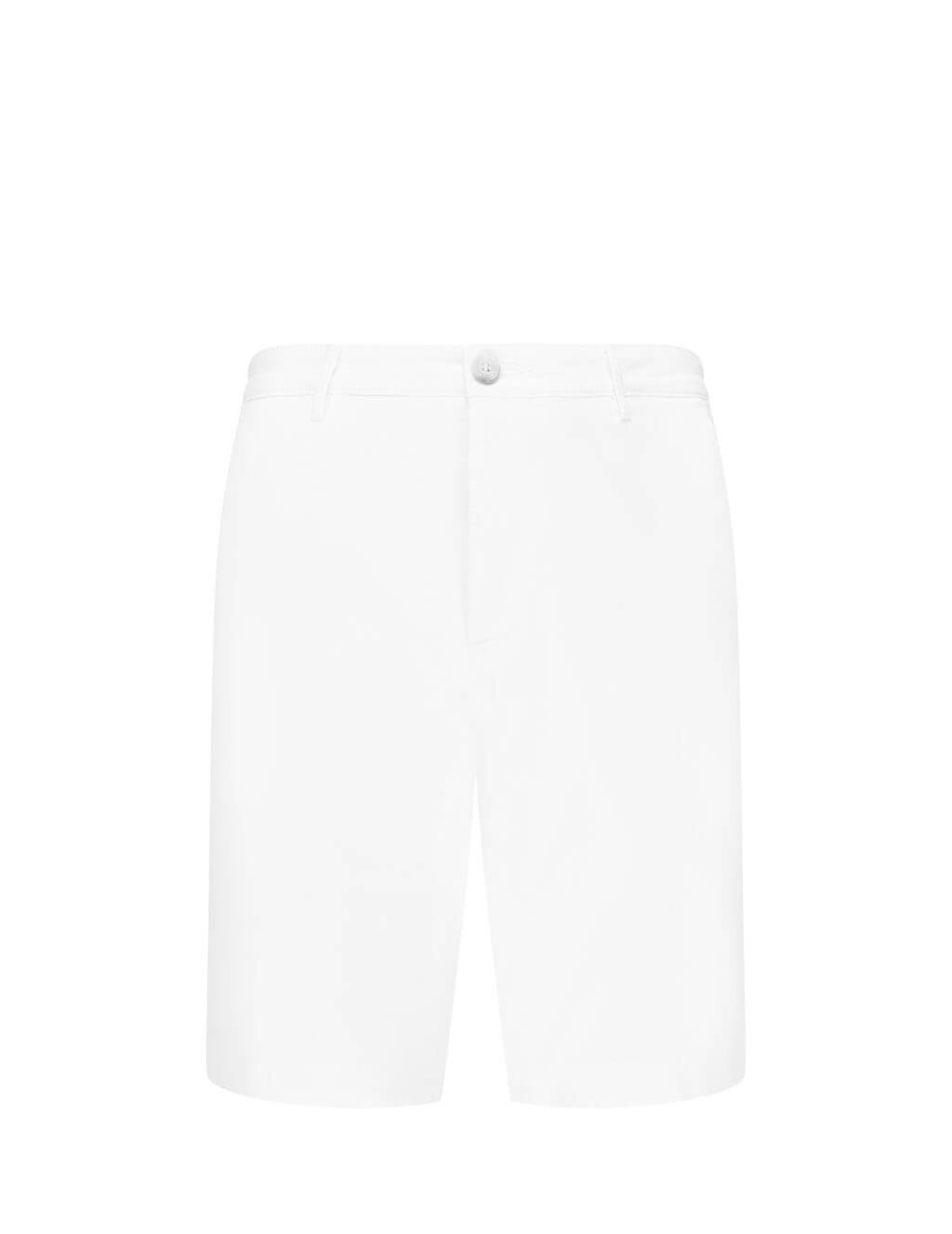 BOSS Men's Giulio Fashion White Lightweight Slice Shorts 50410377100