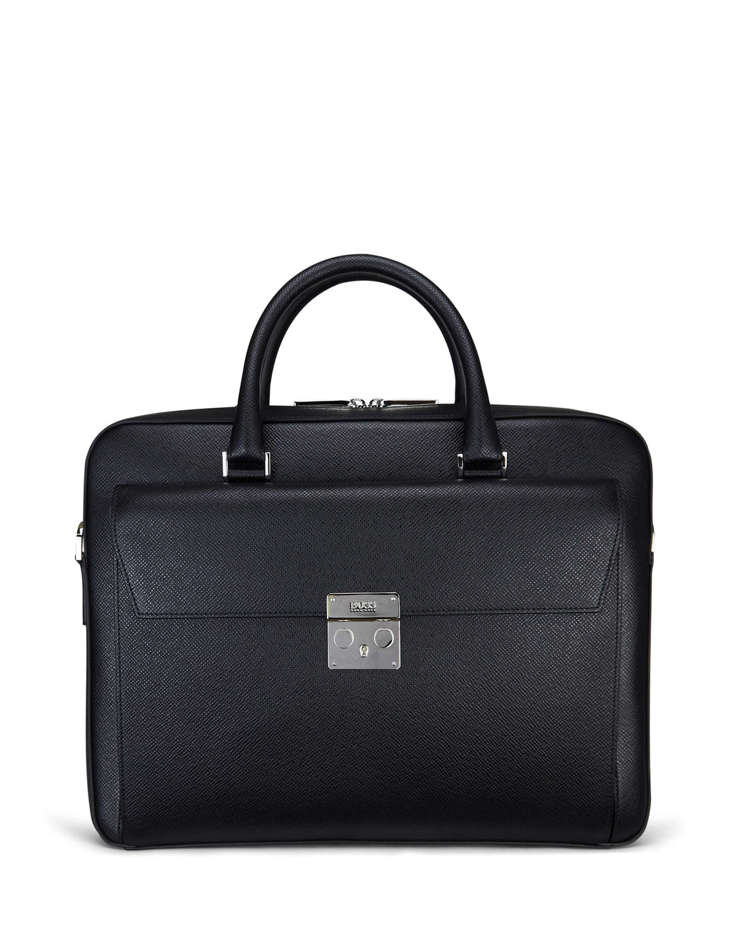 Boss Hugo Boss Signature Document Case Black 50402303001 Men's Giulio Fashion