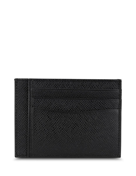 BOSS Men's Black Signature Collection Card Holder 50430656 001