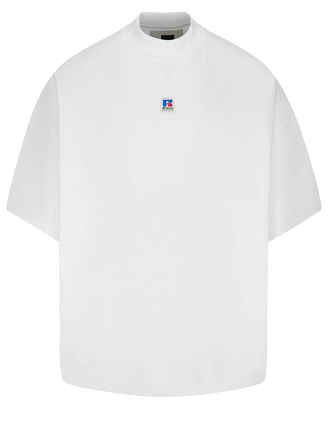 BOSS x Russell Athletic Men's White Boxy T-Shirt 50457641 100
