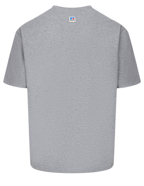 BOSS x Russell Athletic Men's Grey Logo T-Shirt 50457336 034