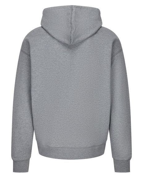 BOSS x Russell Athletic Men's Grey Safa 2 Hoodie 50458960 034