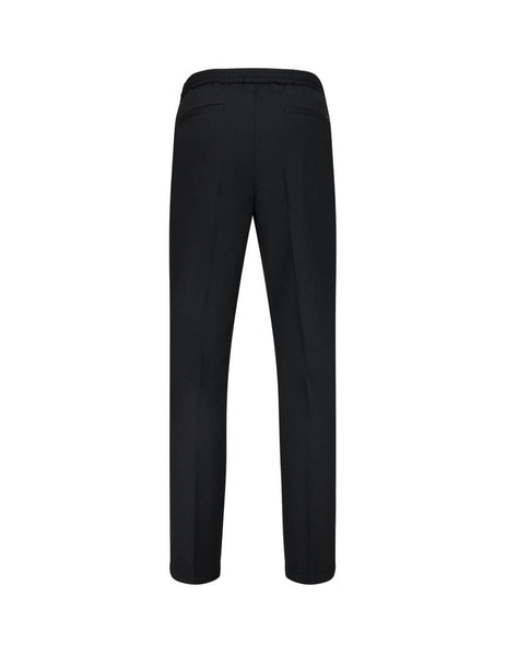 BOSS Men's Giulio Fashion Black Banks Drawstring Trousers 50420064 001