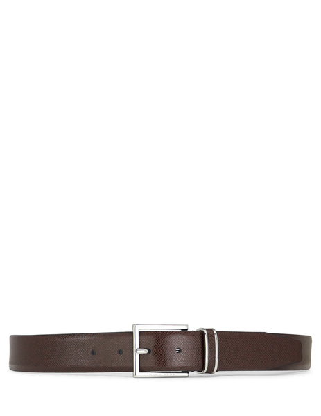 BOSS Men's Giulio Fashion Red Leather Canzio Belt 50397961605