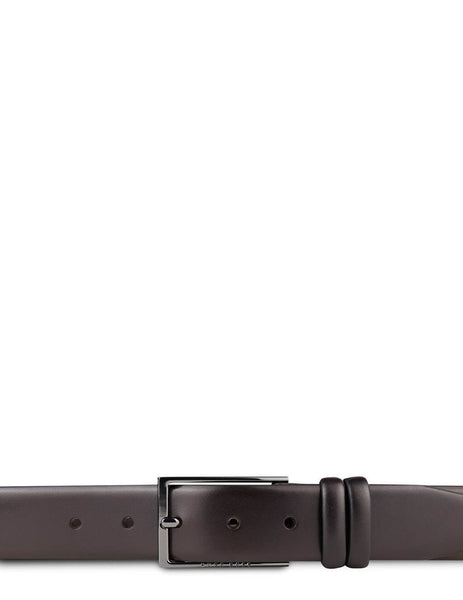 BOSS Men's Giulio Fashion Dark Brown Leather Carmello Belt 50239979202