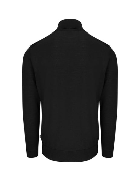 BOSS Men's Giulio Fashion Black Gideo Knit 50419133 001