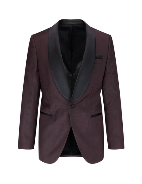 Men's BOSS Henry 2 Suit in Dark Red 50421731 604