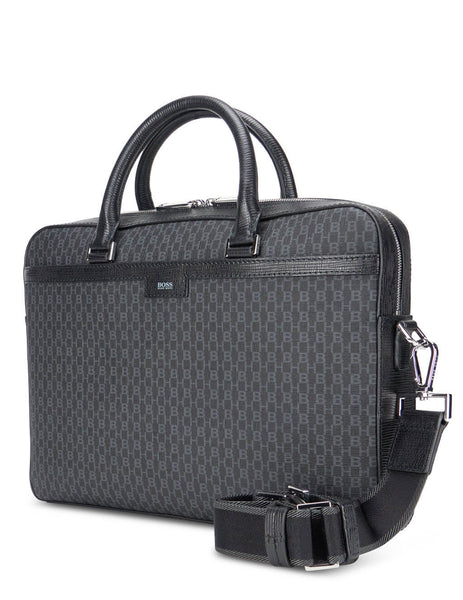 Men's BOSS Metropole S Briefcase in Black. 50422405001