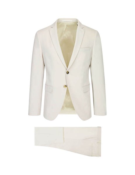 BOSS Men's Giulio Fashion Beige Reymond Wenten Suit 50412068102
