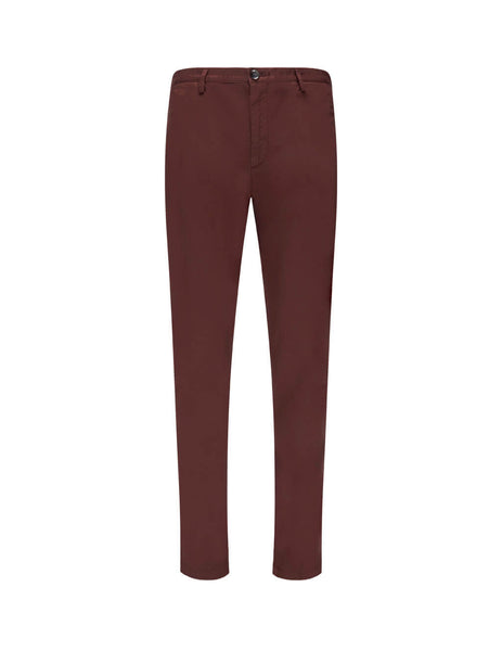 BOSS Men's Giulio Fashion Dark Red Rice 3D Trousers 50325936604