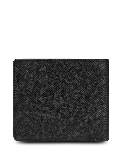 BOSS Men's Giulio Fashion Black Leather Signature Collection Wallet 50311737001