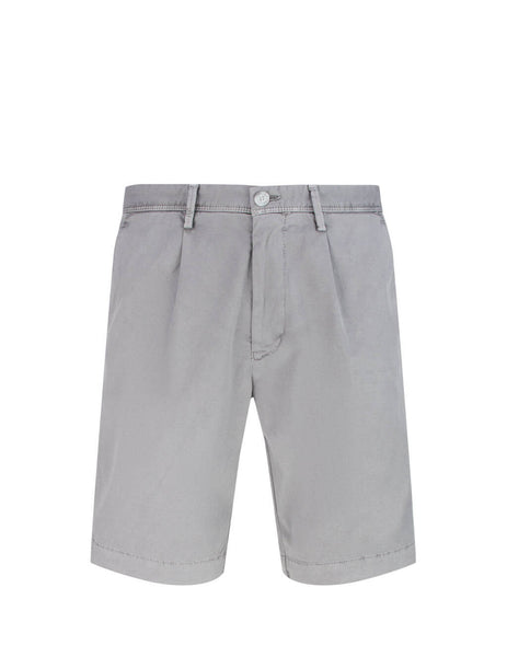 BOSS Men's Giulio Fashion Grey Slice Shorts 50426452 042