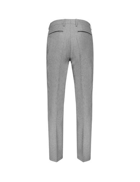 BOSS Men's Giulio Fashion Grey Wool Wilhelm Trousers 50417896030