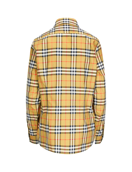 Burberry Women's Giulio Fashion Brown Vintage Check Shirt 8014010A2219