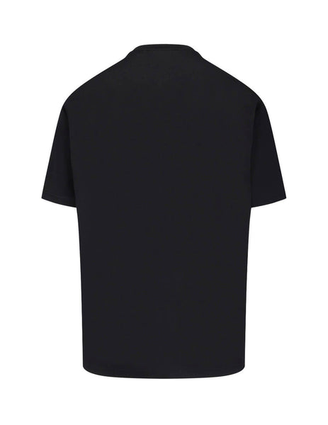 Burberry Men's Giulio Fashion Black 3-D Logo T-Shirt 8021831A1189