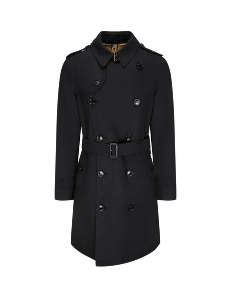 Burberry Men's Black Chelsea Raincoat 4073743 00100