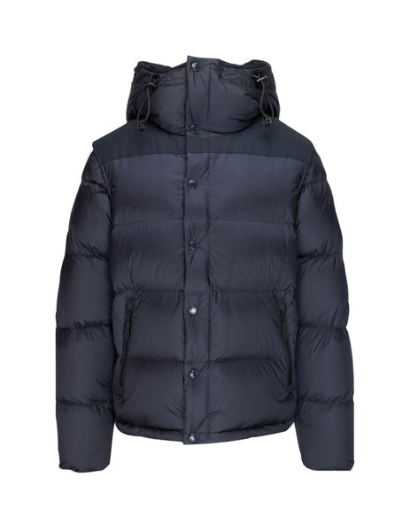 Burberry Men's Giulio Fashion Navy Detachable Sleeve Puffer Coat 8018732A1222