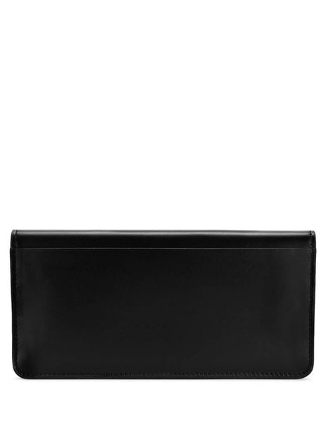 Burberry Women's Black Leather Horseferry Continental Wallet 8011512 A1189