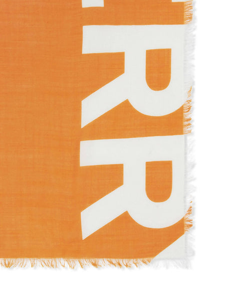 Burberry Women's Giulio Fashion Bright Orange Horseferry Print Scarf 8017402A1934