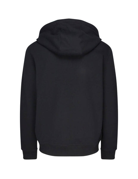 Burberry Men's Black Monogram Motif Cotton Hoodie 8017000A1189