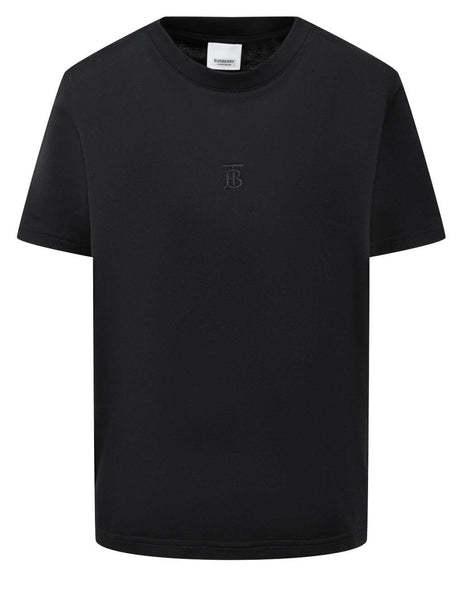 Burberry Women's Black Monogram Motif T-Shirt 8017121 A1189