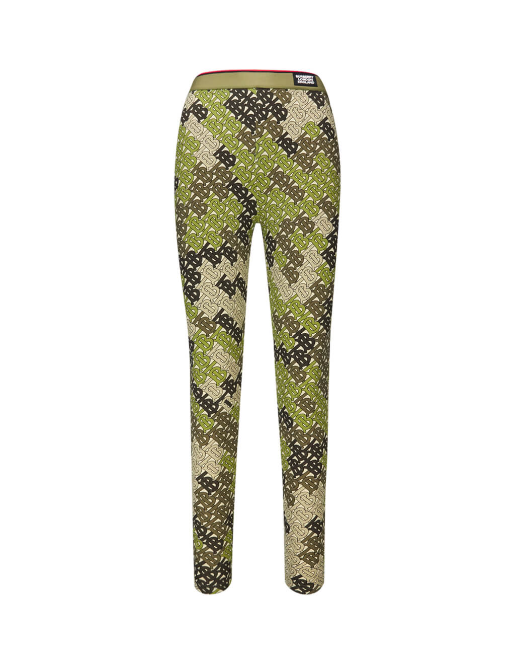 Burberry Women's Giulio Fashion Khaki Monogram Print Leggings 8018985A6850