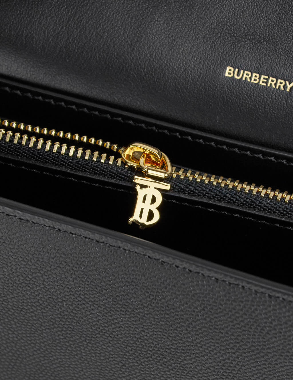 Burberry Women's Black Leather Monogram Wallet 8020728A1189
