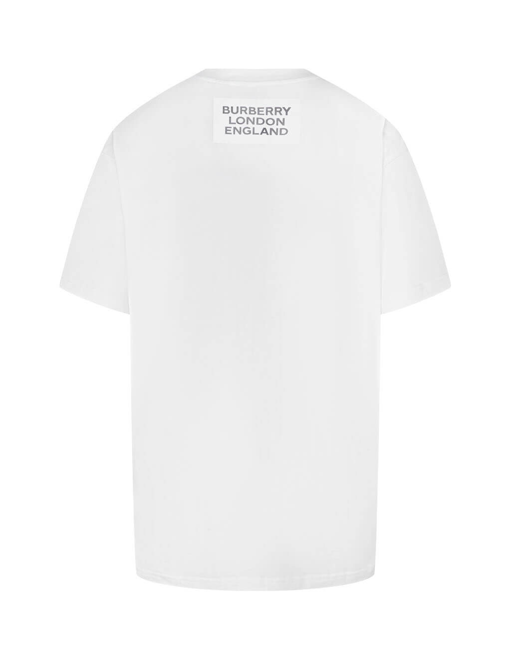 Burberry Women's Montage Print Oversized T-Shirt 8013664 A1464