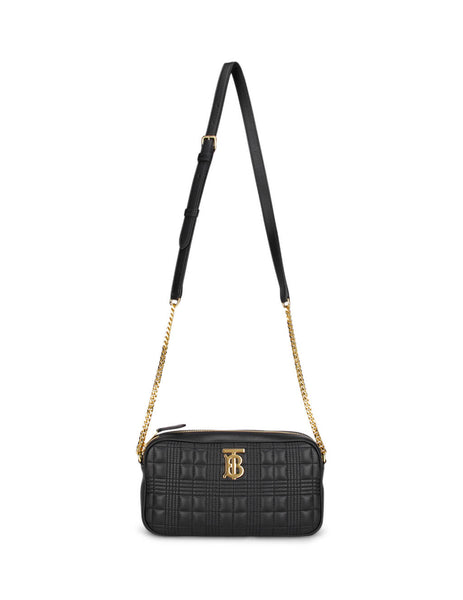 Burberry Women's Black Quilted Camera Bag 8020713 A1189